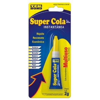 Super Cola Instantânea 2g - Tekbond - 10611000902 - Unitário