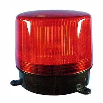 Flash de Advertência Vermelho - 12V - DNI 4006 - DNI - DNI 4006 - Unitário