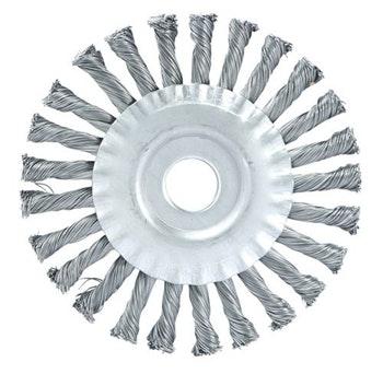 Escova Circular 150x13mm Fio 0,50mm 9000Rpm - Abrasfer - 7010-13A - Unitário