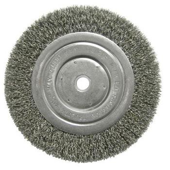 Escova Circular Ondulada F16 com Fio 0,20mm 6000RPM - Weiler - 01095 - Unitário