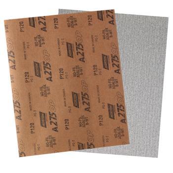 Folha de lixa seco A275 grão 120 - Norton - 05539534934 - Unitário
