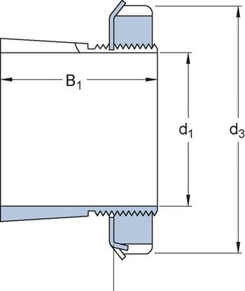 Bucha de fixação - SKF - H 2306 - Unitário