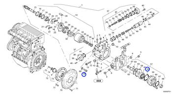 Parafuso Soquete Sextavado - Volvo CE - 984140 - Unitário