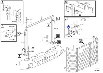 Engate da Plataforma - Volvo CE - 11018588 - Unitário