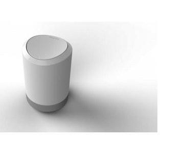 Lixeira Plástica de Banheiro 5L - Prat-K - 10030000 - Unitário