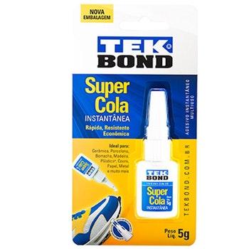 Super Cola Instantânea 5g - Tekbond - 20611003302 - Unitário