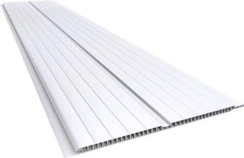 Forro de PVC em Régua Frisado Gêmini 7 x 200mm 6m - PLASBIL - FPVCG720600 - Unitário
