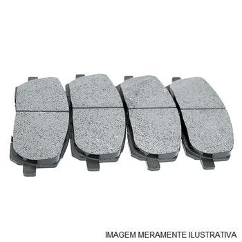 Pastilhas de Freio - SYL - 1106 - Par