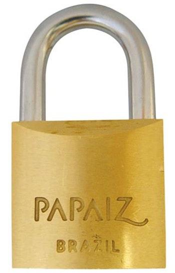Cadeado de Latão 20mm CR 20 - Papaiz - 6684564 - Unitário