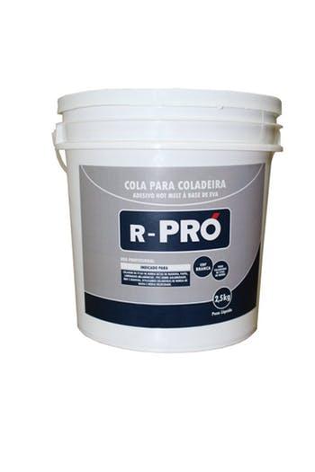 Cola Hot Melt Granulada Branca R-PRÓ 2,5Kg