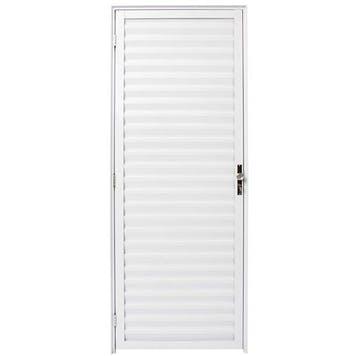Porta Palheta Linha Malta 210 x 80cm Branco - Prado Alumínio - 10.05.01.2617 - Unitário