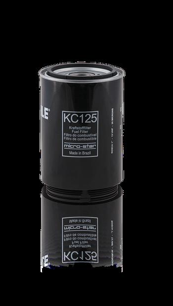 Filtro Blindado de Combustível - MAHLE - KC125 - Unitário