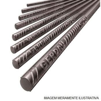 """Vergalhão 12m Aço CA-50 1/2"""" 12,5mm - Gerdau - 110006821 - Unitário"""