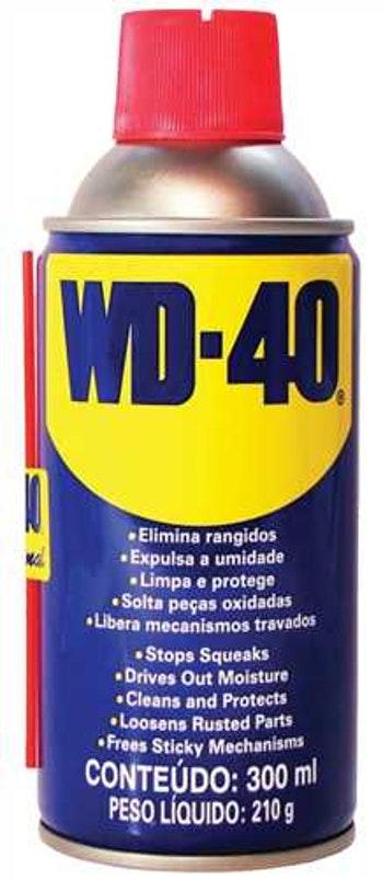 Óleo Multiuso 300ml WD-40 - WD-40 - WD-40 - Unitário