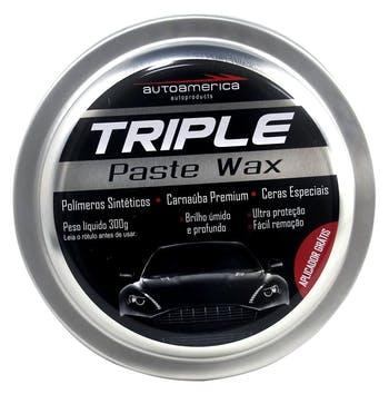 Cera Triple Wax 300g - AutoAmerica - 504540003 - Unitário