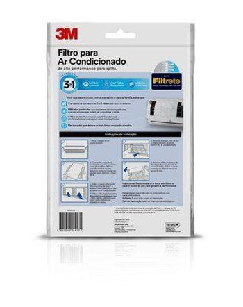 Filtro de Alta Performance para Ar-Condicionado Split 3M - 3M - HB004556500 - Unitário