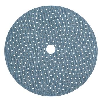 Disco de lixa Cyclonic A975 grão 220 152mm c/ x furos - Norton - 66261115878 - Unitário