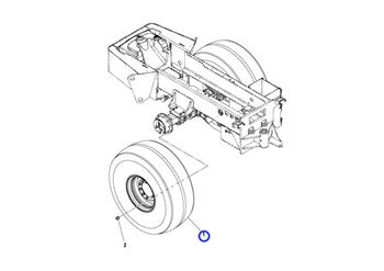 Válvula - Volvo CE - 59524447 - Unitário