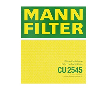 Filtro do Ar Condicionado - Mann-Filter - CU2545 - Unitário