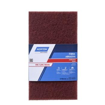 Fibra Abrasiva Ferrugem - Vermelha - Norton - 69957328761 - Unitário