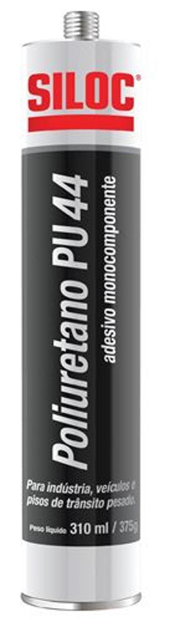 Selante Poliuretano PU44 Cinza 310ml - Siloc - 400297 - Unitário