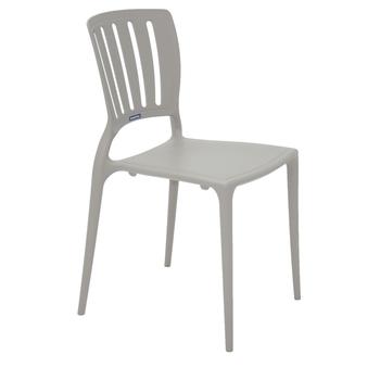 Cadeira Tramontina Sofia Concreto sem Braço Encosto Vazado Vertical - Tramontina - 92035210 - Unitário