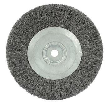 Escova Circular Ondulada F25 com Fio 0,40mm 3000RPM - Abrasfer - 7000-30 - Unitário