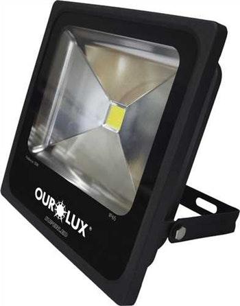 Lâmpada Superled Projetor Slim 50W Bivolt 6500K - Ourolux - 03265 - Unitário
