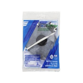 Máscara descartável PFF2 Carvão com válvula - Norton - 66261087593 - Unitário