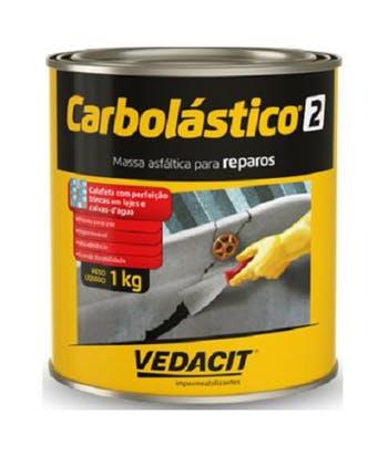 Massa Asfáltica Carbolástico 2 1kg - Vedacit - 112090 - Unitário