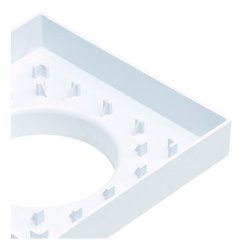 Ralo Invisivel Branco - PeA Ralo Invisível - 35426 - Unitário