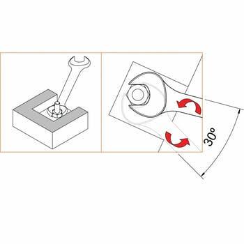 Chave Fixa 14x15 mm - Tramontina - 44610105 - Unitário