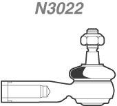 Terminal de Direção - Nakata - N 3022 - Unitário