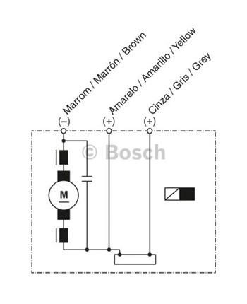 MOTOR DE VENTILAÇÃO - Bosch - 9130081044 - Unitário
