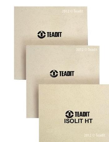 Papelão Teaplac 97N Natural Espessura 12mm Folha 1m - Teadit - Teaplac 97N-12 - Unitário