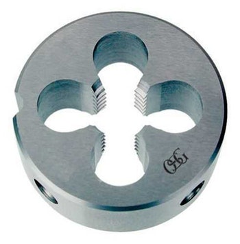 Cossinete Aço Rápido BSP 1/4x38mm sem Peeling 19 Fios Redondo DIN 223B - OSG - 118C-BSP-1-4 - Unitário
