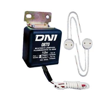 Reator Inversor para Lâmpadas Fluorescentes - DNI - DNI 0870 - Unitário