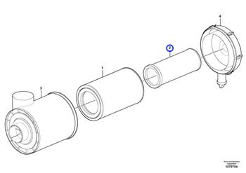 Filtro de Ar - Volvo CE - 15193232 - Unitário