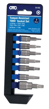Jogo de Soquetes Tamper-Resistant Torx - OTC - 6145 - Unitário