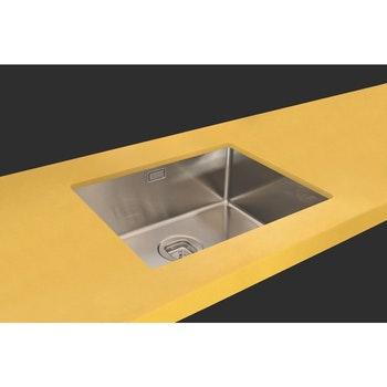 Cuba Design Collection Quadrum Undermount em Aço Inox com Acabamento Scotch Brite 50 x 40 cm - Tramontina - 94007113 - Unitário