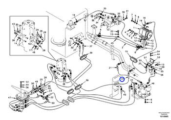 Mangueira Completa - Volvo CE - 9453-03229 - Unitário