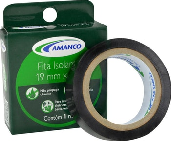Fita Isolante 19mm x 10m - Amanco - 99104 - Unitário