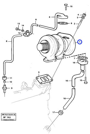 9004881613 REMAN - Volvo CE - 9004881613 - Unitário