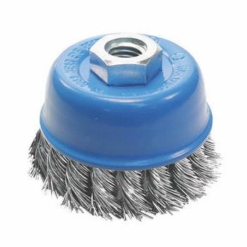 Escova Copo Trançada Aço Carbono Ø 65mm - Norton - 05539544907 - Unitário