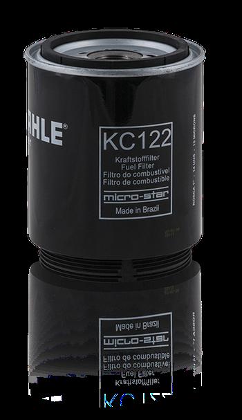 Filtro Blindado de Combustível - MAHLE - KC122 - Unitário