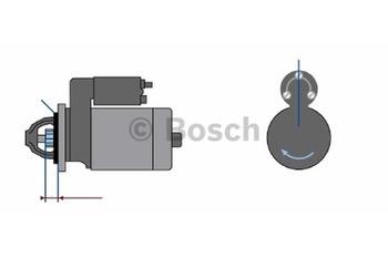 MOTOR DE PARTIDA JF 24V 4,0kW - Bosch - 9000083064 - Unitário