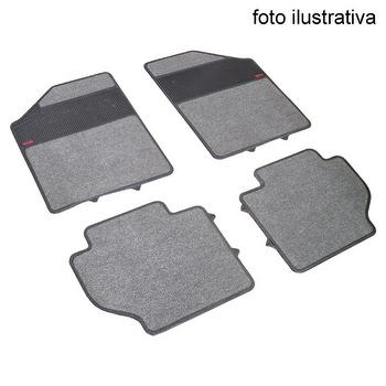 Tapete de Carpete+Borracha - Borcol - 402363 - Kit