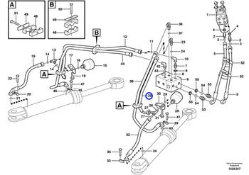 Mangueira Completa - Volvo CE - 11172561 - Unitário