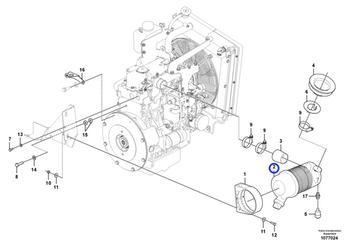 Filtro de Ar - Volvo CE - 11802804 - Unitário