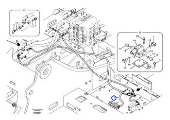 Mangueira Completa - Volvo CE - 9453-03209 - Unitário